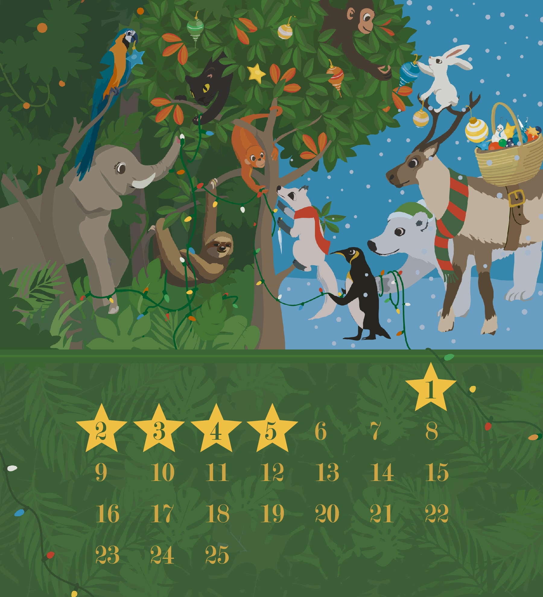Adventskalender Mighty Earth Kakao