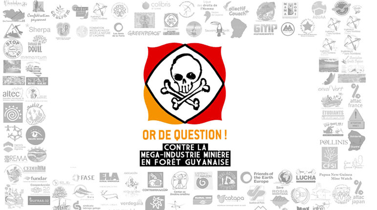 Logo Collectif Or de question Guyane