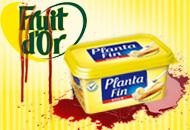 L'huile de palme contenue dans les margarines Fruit d'Or et Planta Fin est synonyme de déforestation et violence contre les populations
