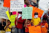 Les indigènes du Mexique demandent de l'aide