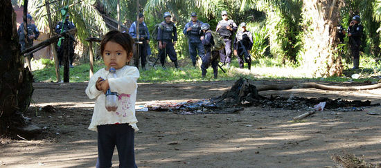 Terreur pour l'huile de palme au Honduras Honduras-palmoel-bajoaguan