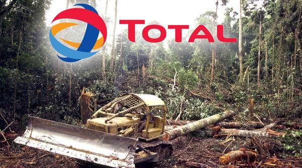 La bioraffinerie de Total à La Mède, en fabricant des biocarburants à base d'huile de palme, exacerbera la déforestation tropicale